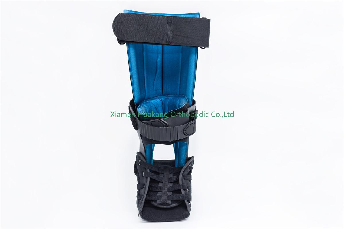 Adjustable tall leg ankle support braces